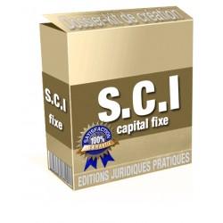 SCI à capital fixe