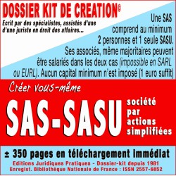 SAS et SASU a capital fixe et variable